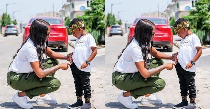 I love you more than life – Tiwa Savage praises son Jamil on his 4th birthday