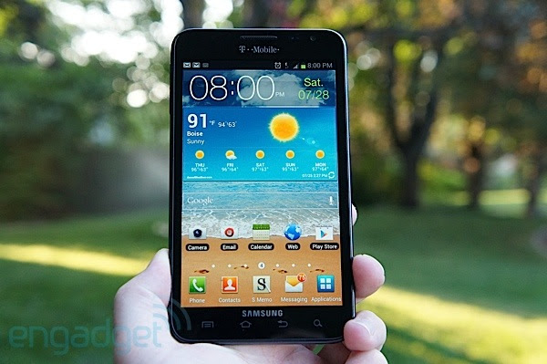 Samsung Galaxy Note for TMobile review