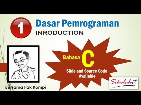 [Video Pembelajaran] Algoritma dan Dasar Pemrograman menggunakan Bahasa C