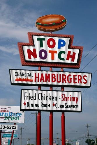 top notch sign