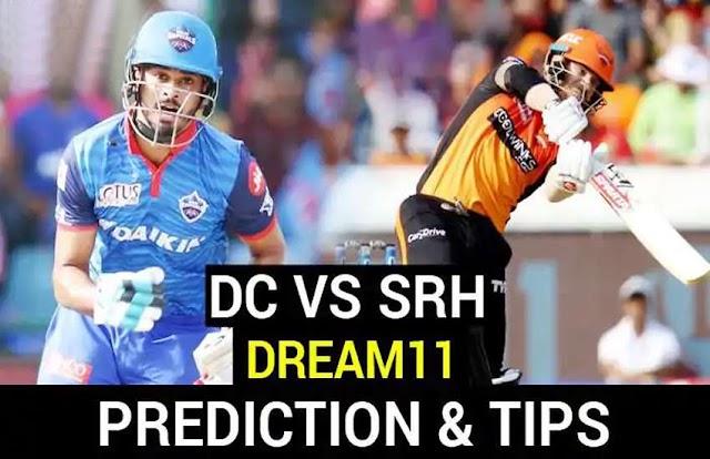 DC vs SRH: जानिए क्या होगी बेस्ट ड्रीम-11 प्लेइंग टीम, रोमांचक होगा मुकाबला