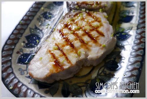 炙燒旗魚排佐檸檬奶油06