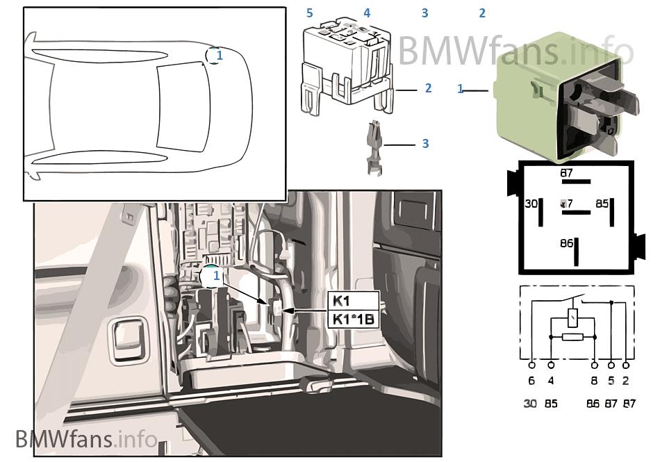 Bmw X5 Air Suspension Fuse Location