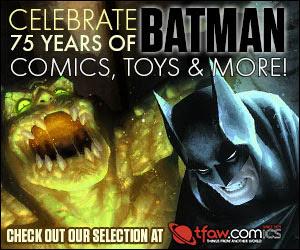 Get Batman comics, graphic novels, toys & more at TFAW.com!