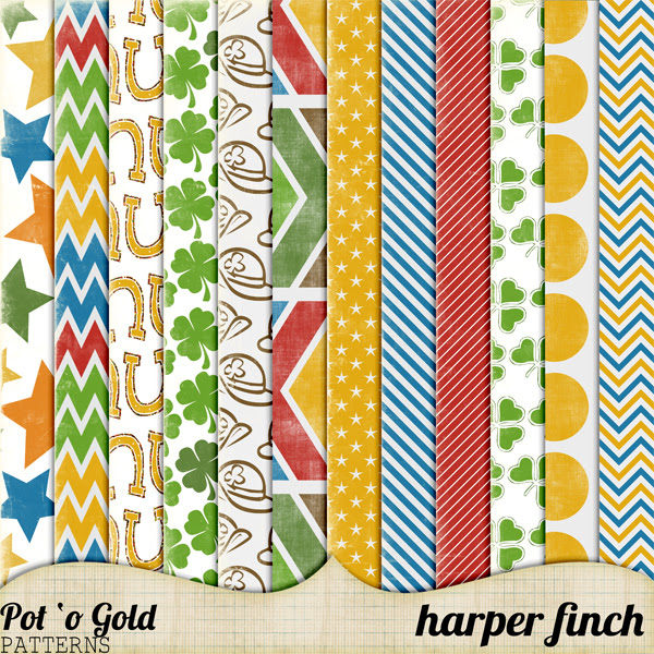 Pot O' Gold Patterns by harperfinch