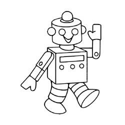 ausmalbilder roboter