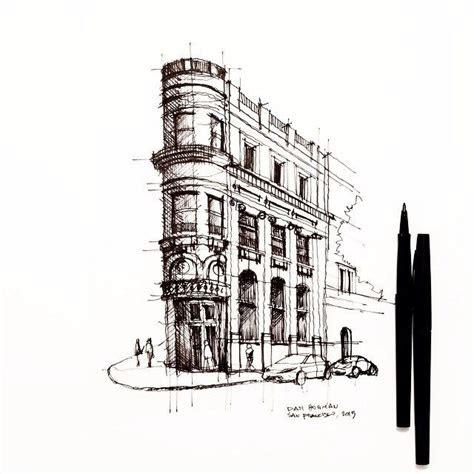 san franciscos  transamerica building sketch