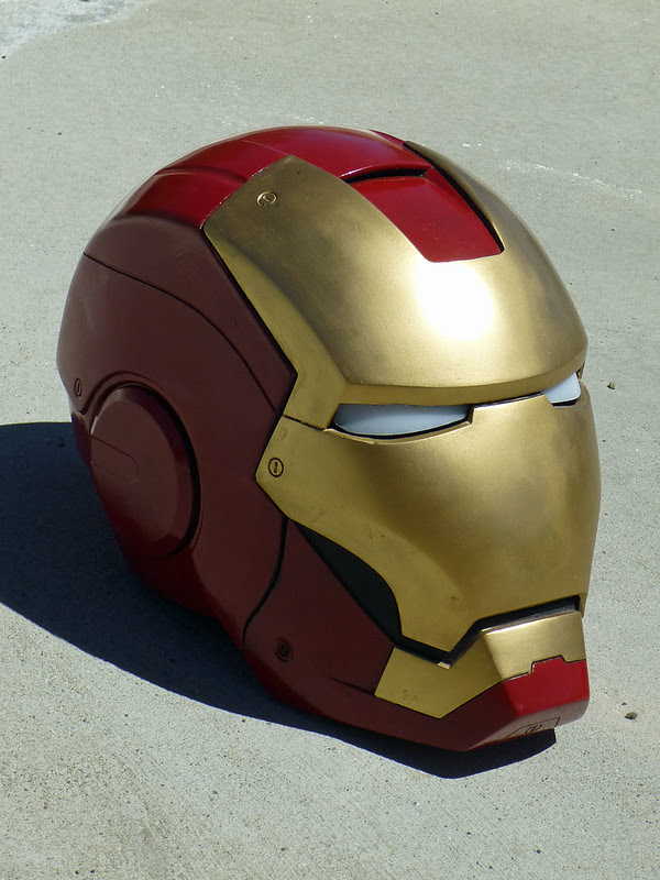 Ironman Helmet Right Angle