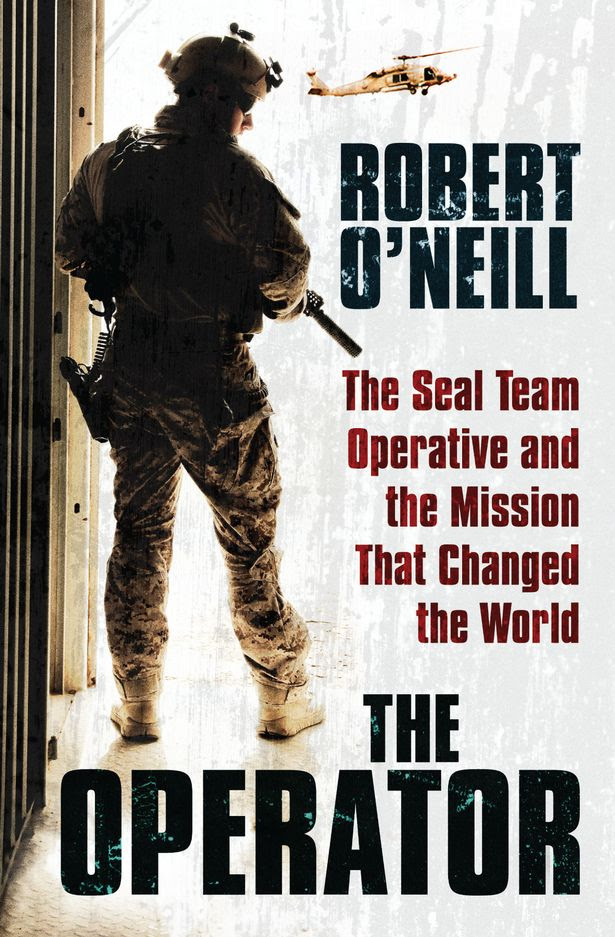 Robert O'Neill's The Operator, capa do livro