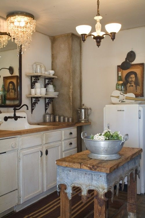 Eclectic decor makes a small space more interesting