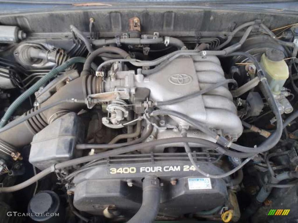 1998 Toyota 4Runner Limited 4x4 3.4 Liter DOHC 24-Valve V6 ...
