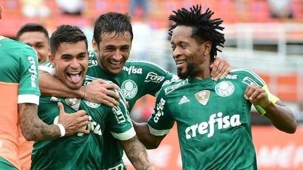 Robinho marca novo golaço e Palmeiras vence Choque-Rei