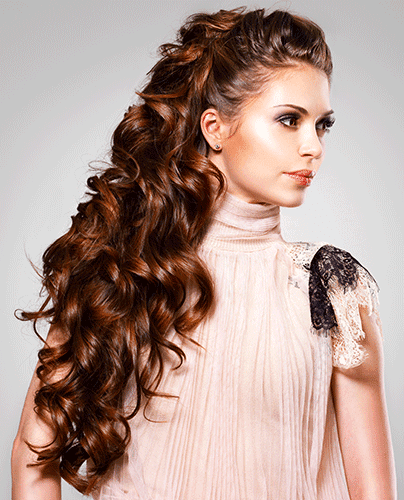Gorgeous and Glamorous Long  Curly  Hairstyles  Ohh My My
