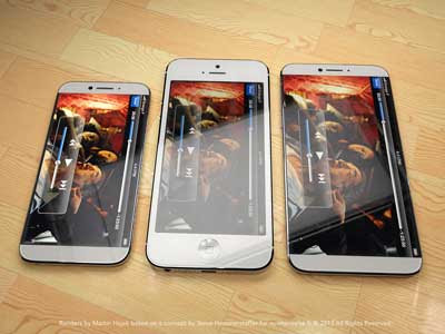Imagine: iPhone device 6 4.8 inches screen pictures