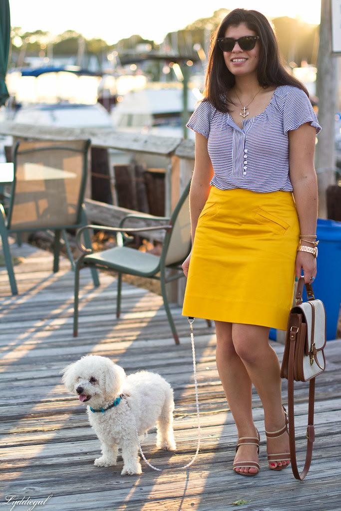 yellow pencil skirt-5.jpg