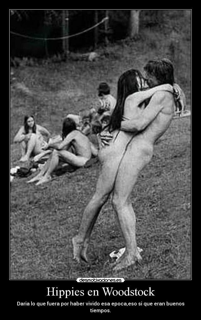 Hippies-en-Woodstock