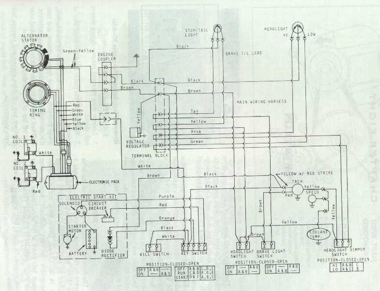 Yamaha Enticer 300 Wiring Diagram