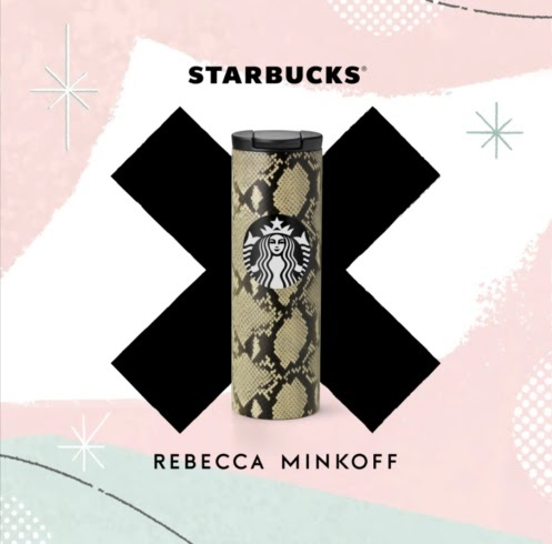 Starbucks X Rebecca Minkoff collection in select stores starting September 22