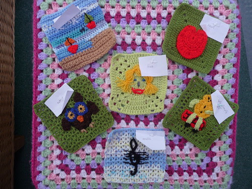 bonsall (UK) Your Squares have arrived! Thank you!