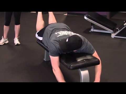 hamstring curl alternative  true natural bodybuilder