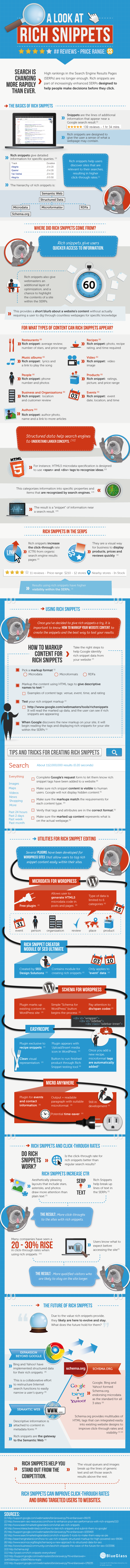 How To Use GOOGLE RICH SNIPPETS To Enhance Your Search Results : infographic