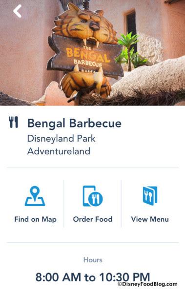 Mobile Order at Bengal Barbecue screenshot