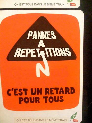 RER B énième  panne...