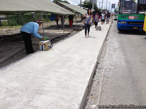 New cemented sidewalks and some improvements–Southwest Integrated Transport Terminal experience 5