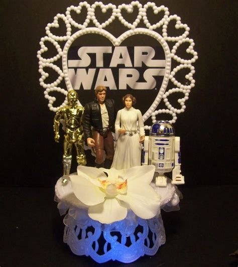 Star Wars Princess Leia Han Solo R2D2 C 3PO Wedding by