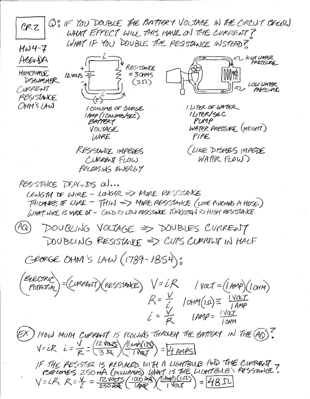 13 Best Images of Ohms Law Practice Problems Worksheet  Ohms Law Worksheet Answers, Ohm S Law