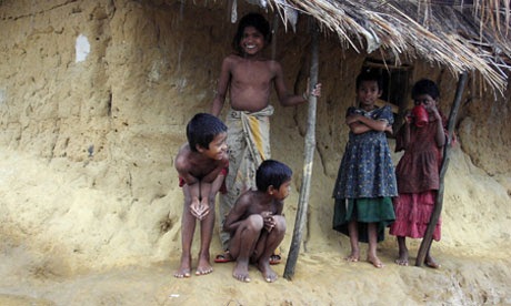 MDG : Bangladesh : global acute malnutrition (GAM) in Kutu plaong refugee camp near Myanmar border