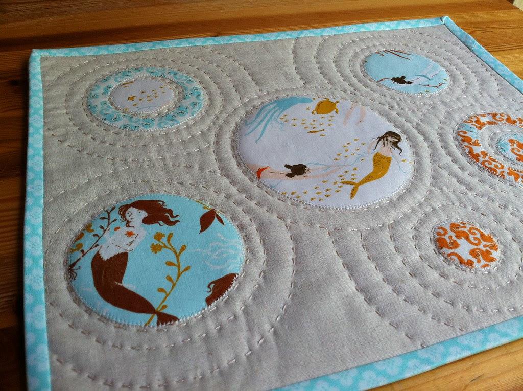 Heather Ross Mendocino Mini Quilt