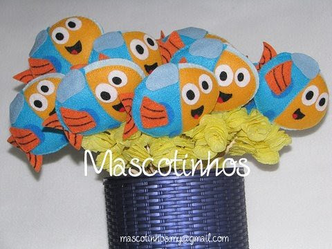Peixonautas! by Mascotinhos em Feltro