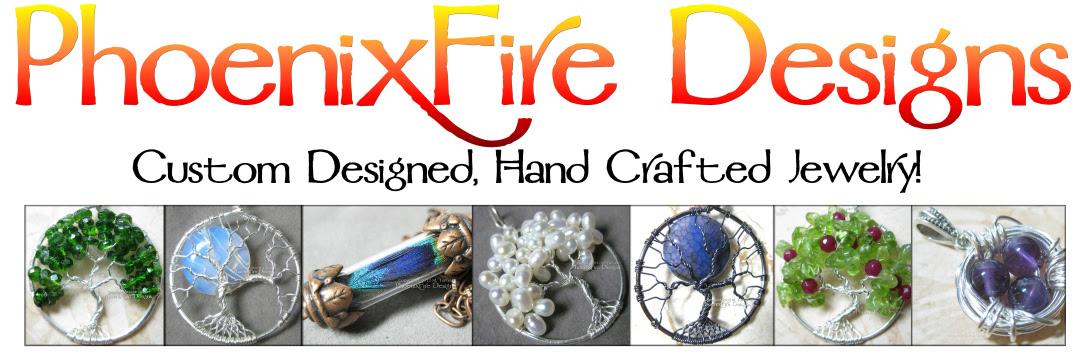 Tree of Life Pendants and Handmade Jewelry by M. Turner PhoenixFire Designs