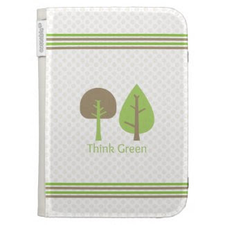 Think Green Kindle Case