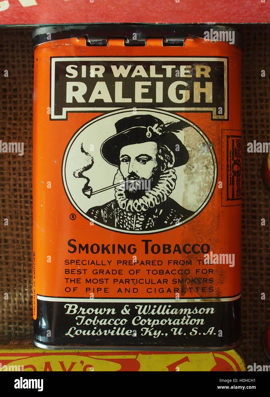 Bilderesultat for walter raleigh tobacco picture
