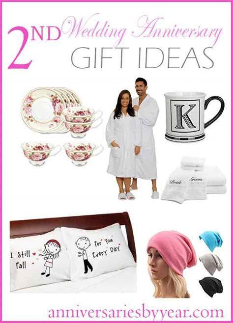 2nd Anniversary   Second Wedding Anniversary Gift Ideas