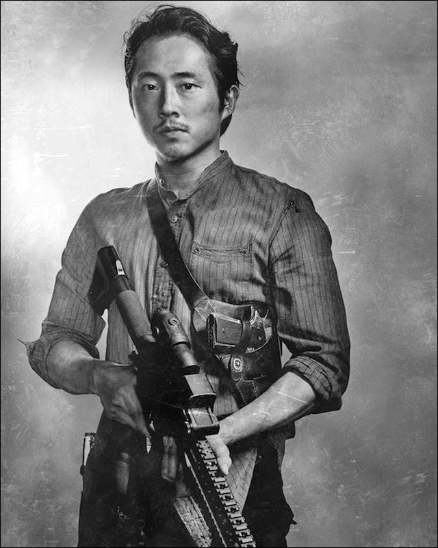 Walking Dead Steven Yeun