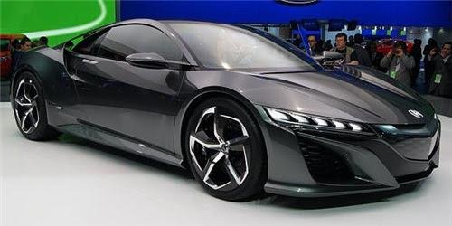Harga Mobil Honda Acura NSX dan Spesifikasi - DetailMobil.com