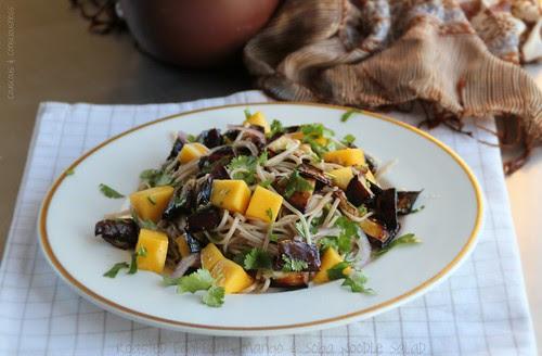 Roasted Eggplant, Mango & Soba Noodle Salad 2