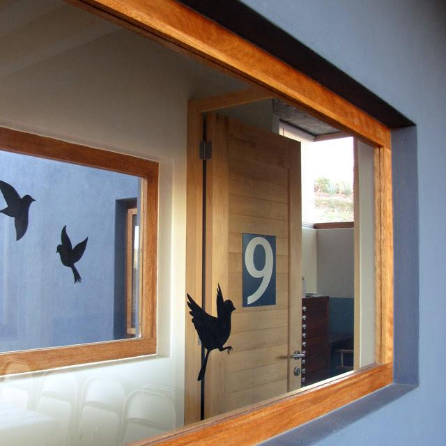 Bird silouette decals