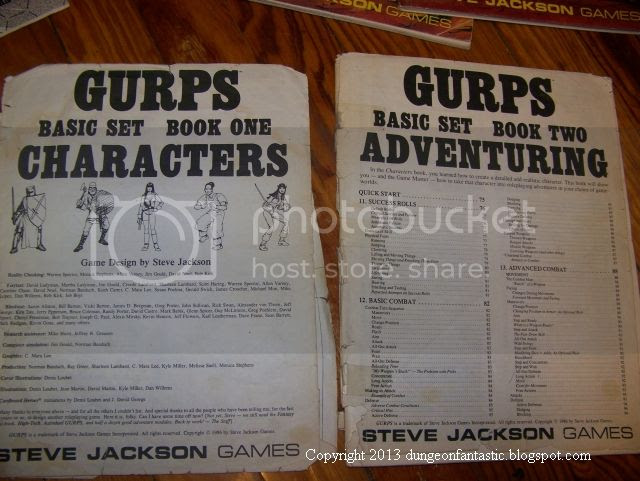 GURPS 1st edition photo