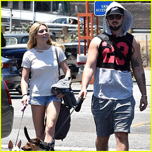 Ashley Greene & Fiance Paul Khoury Couple Up for Fourth of July Weekend