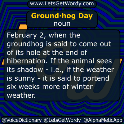 Groundhog Day 02/02/2018 GFX Definition