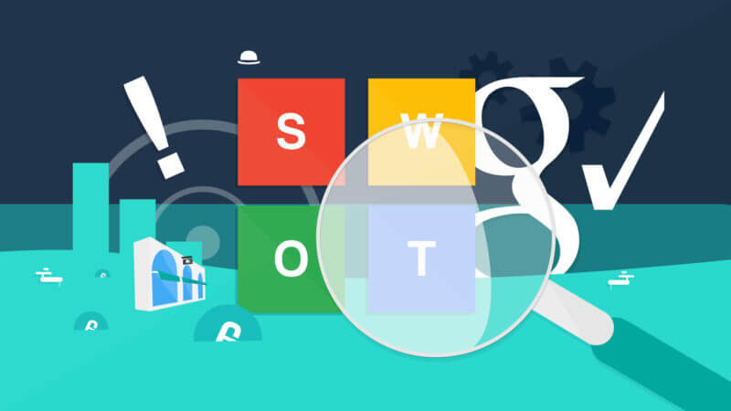 SWOT analysis for SEO
