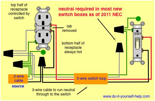 House Wiring Diagram Uk