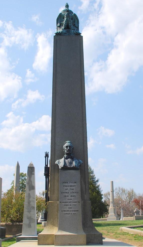 john tyler monument