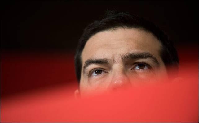 Alexis Tsipras, líder de Syriza y candidato de la izquierda a la Comisión Europea.-