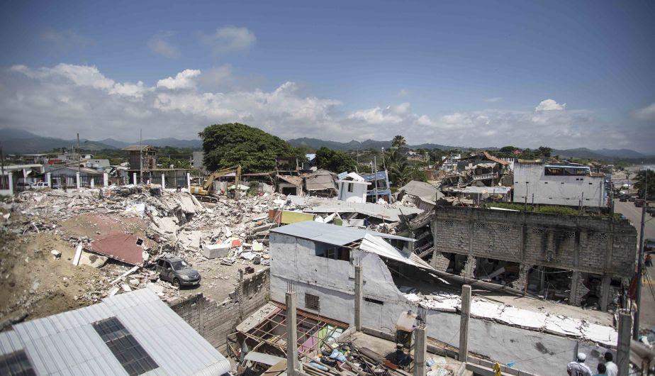 ECUADOR: Un fallecido por infarto y daños materiales tras terremotoshoy