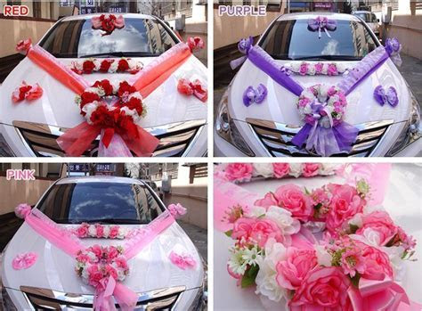 DIY Wedding Car Decorations Kit Bridal Supplies Marriage